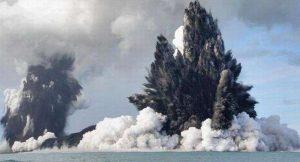 Vulcano Palinuro: spettacolare eruzione