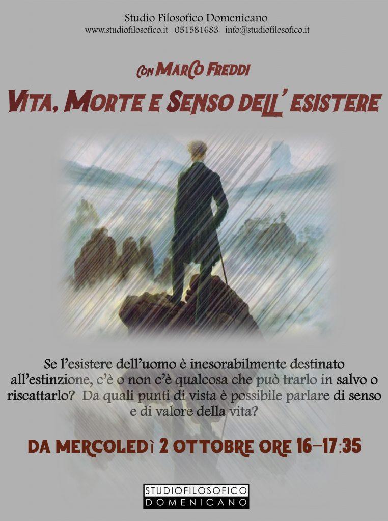 """""""Vita, morte e senso dell'esistere"""" con Marco Freddi"""