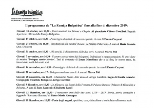 Programmazione - La Famèja Bulgnèisa