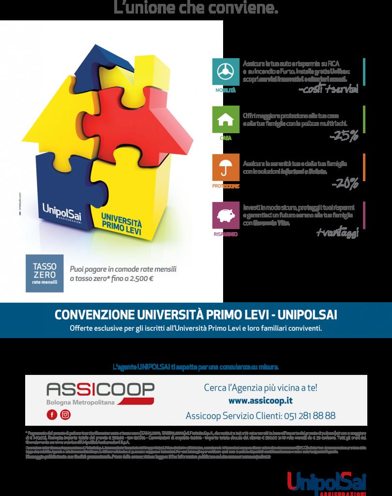 Convenzione UnipolSai-PrimoLevi