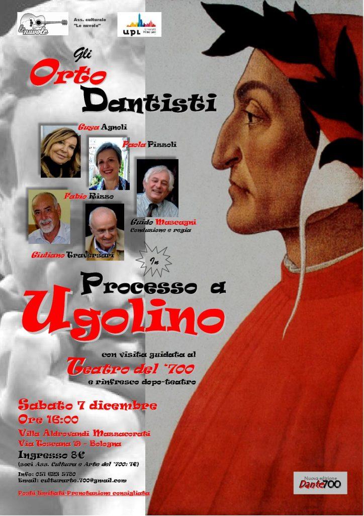 Processo a Ugolino - spettacolo teatrale a Villa Aldrovandi Mazzacorati