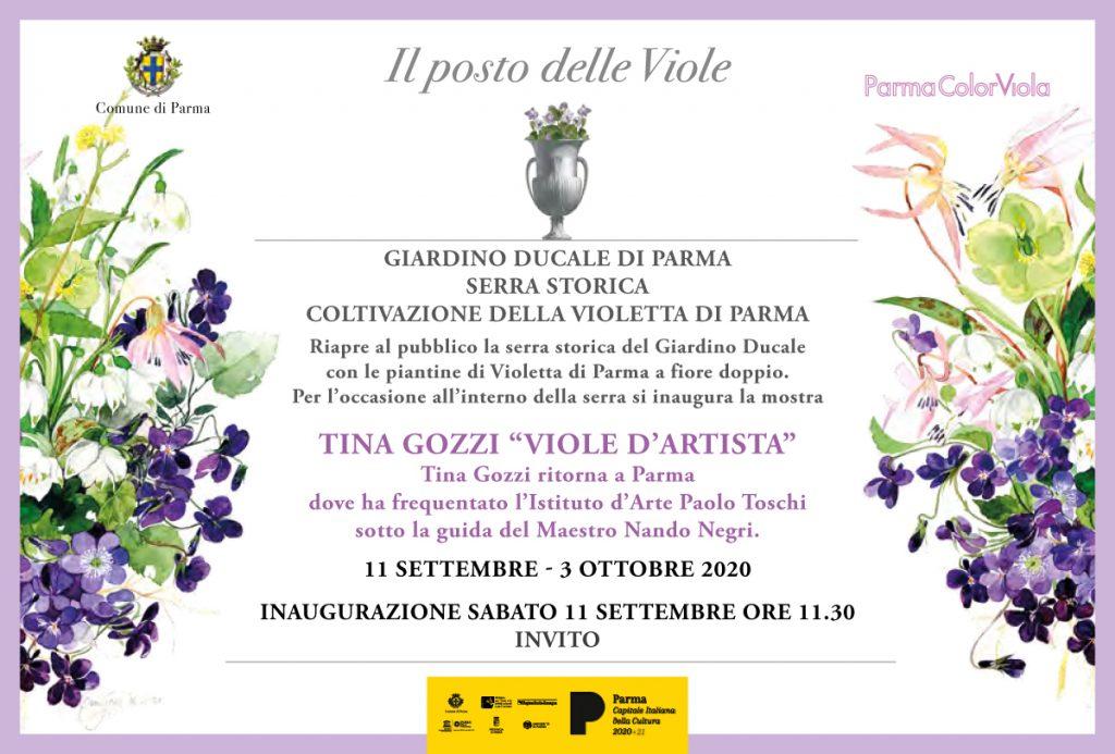 Mostra Tina Gozzi a Parma