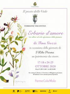 """Tina Gozzi - mostra """"Erbario d'amore"""""""
