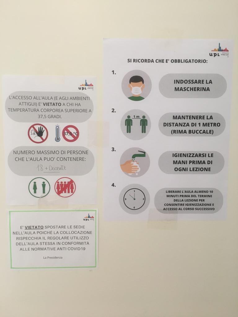 UPL - avvertenze per la sicurezza di tutti