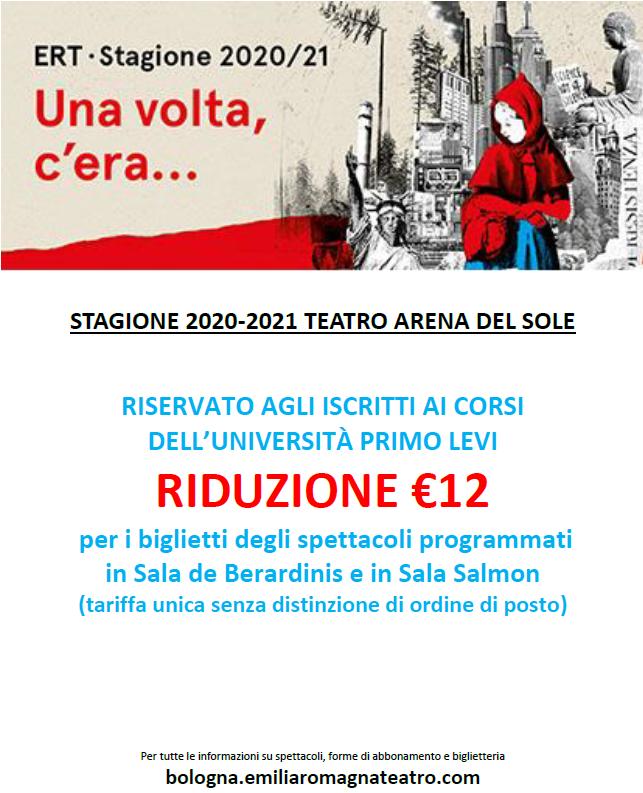 Teatro Arena del Sole - Stagione 2020/21