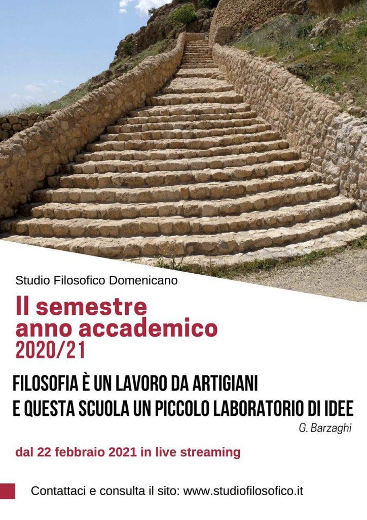 Baccalaureato in filosofia 2020-21