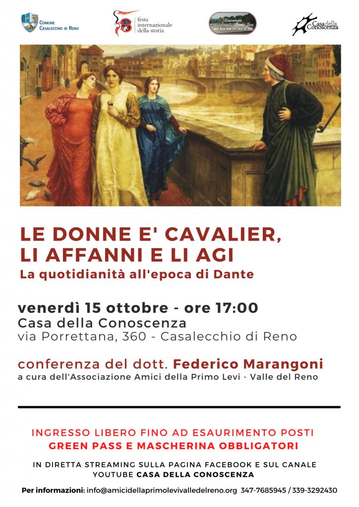 Conferenza del dott. Federico Marangoni